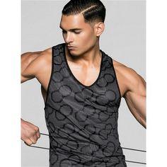 2Eros BLK Aktiv Tank Top Black/Grey (T4203) Aktiv, Gym Wear, Workout Wear, Black Tank Tops, Mens Fitness, Gym Workouts, Black And Grey, Tank Man, Stylish