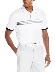 63b8d043875 adidas Golf Men s Climachill Gradient Polo  Self-collar Gradient print on  chest Fold overtape on sleeve cuffs Gradient print on chest.