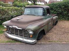 eBay: chevy pick up truck 1956 hotrod #classiccars #cars ukdeals.rssdata.net