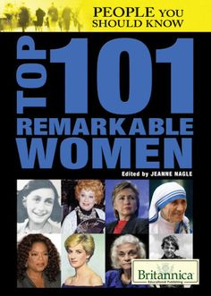 Top 101 Remarkable Women (14) / People You Should Know