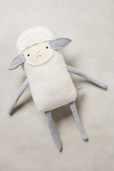Anthropologie Little Lamb Stuffed Animal #anthrofave #anthropologie