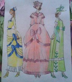 """#style #fashion #designer #fashiondesigner #illustration #fashionillustration #romanticism #inspiredbyromanticism #hungarian #student…"""