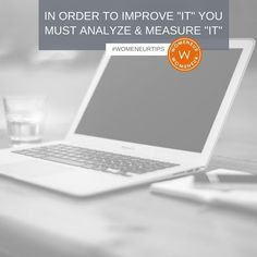 [#WomeneurTips] Womeneurs in order to know what's working and is effective you need to know how it performed both before and after. There's no way to know how to improve something without having an idea of where and how to improve it. Want increased sales? Measure what is/what is not working. Want to kill it with your blog posts? Use analytics to view the most read? Making sense?  We spend lots of time on #socialmedia and in order to grow organically grow your follower base increase your…