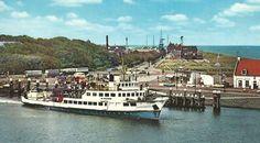 De Dageraad vertrekt uit Den Helder naar Texel. Vermoedelijk omstreeks 1963