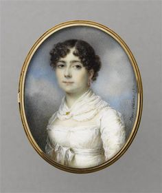 Jean-François-Marie Huet-Villiers, Sophie Dawes, future Baronne de Feuchères, 1812