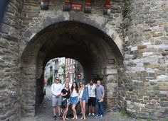 Summer 2016 students taking time to explore the old buildings of Maastricht Old Buildings, Study Abroad, Bouldering, Summer 2016, Old Things, Students, University, Street View, Culture