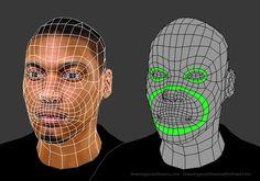 Face Topology [Breakdown Guide] 01-3