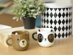 Mug / tasse kawaii - ours et pande ! So cute !!! Dispo sur La petite épicerie