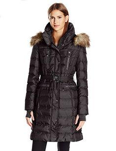 """Boasting a classically quilted silhouette, this heavy weight belted down with luxurious faux fur trim offers a cozy chic style.       Famous Words of Inspiration...""""Philosophy:  A route of many roads leading from nowhere to nothing.""""   Ambrose...  More details at https://jackets-lovers.bestselleroutlets.com/ladies-coats-jackets-vests/down-parkas/parkas/product-review-for-vince-camuto-womens-belted-heavy-weight-down/"""