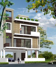 Exterior house designs in indian