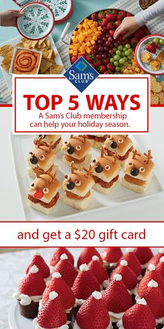 What's even better than signing up with the biggest savings club around? Getting an additional $20 for doing it! Tap the link and start saving today. Christmas Snacks, Christmas Cooking, Costco Savings, Antiphospholipid Syndrome, Yummy Treats, Sweet Treats, Good Food, Yummy Food, Finger Food Appetizers