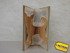 Folded Book Pattern Dog / Chihuahua   / Animal / Tutorial / Folded Book / Boyfriend Gift / Girlfriend / Gift / Pet by BookFoldingMania on Etsy https://www.etsy.com/listing/223774708/folded-book-pattern-dog-chihuahua-animal