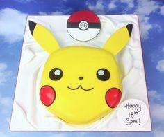 The Cake Store - Pokemon Go Cake, £110.00 (https://www.thecakestore.co.uk/pokemon-go-cake/) #pokemongo #pikachu #pokemon