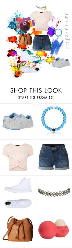 """""""Ootd"""" by lost-in-a-paper-town ❤ liked on Polyvore featuring Dexter Bowling, New Look, LE3NO, Converse, Assya London, ECCO and Eos"""