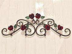 【限定特価+送料無料】アイアン薔薇の妻飾り/壁飾り/窓飾り - ヤフオク!