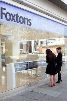 Digital window display unit for Foxtons incorproating Christie Microtiles. These bespoke units were designed and manufactured by 10 Squared and range from 3 to 12 Microtiles wide. Retail Technology, Retail Sector, Digital Signage, Kiosk, Bespoke, Window, Range, Display, Design