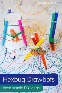 Draw Bots- a super cool art activity for kids!