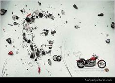 Image result for honda ad optical illusion