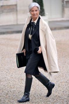 Christine Lagarde: IMF managing director, one of Red's favourite power dressing women. www.redonline.co.uk