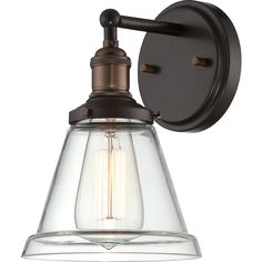 "Nuvo Vintage 1-Light 6"" Wall Sconce - Overstock™ Shopping - Top Rated Nuvo Lighting Sconces & Vanities"