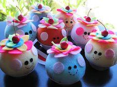 Cupcake com Olhinhos.