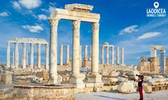 Just a 15-minute drive from Pamukkale brings you to the temples of the ancient city Laodicea, once one of the most prosperous cities of the Western Civilization.