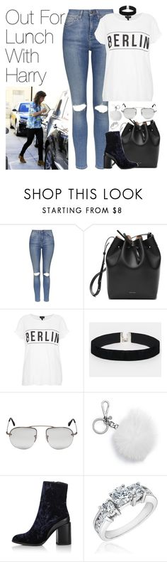 """""""Out For Lunch with Harry Styles"""" by onedirectionimagineoutfits99 ❤ liked on Polyvore featuring Topshop, ASOS, Prada, MICHAEL Michael Kors and Reeds Jewelers"""