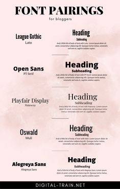 font pairing ideas and examples Web Design, Graphic Design Tips, Design Blogs, Vector Design, Cv Inspiration, Typography Inspiration, Design Typography, Typography Fonts, Hand Lettering