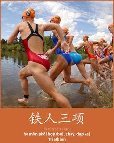 铁人三项 - Tiěrén sān xiàng - ba môn phối hợp - Triathlon