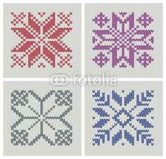 Set of norwegian traditional knitting designs vector 677642 – by keitikei on Vec… - Knitting Charts Knitting Charts, Knitting Stitches, Knitting Patterns Free, Crochet Patterns, Star Patterns, Cross Stitch Patterns, Punto Red Crochet, Norwegian Knitting Designs, Fair Isles