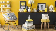 Du jaune pour illuminer votre intérieur