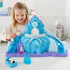 Superb Fisher-Price Little People Disney Frozen Elsa's Ice Palace Now at Smyths Toys UK. Shop for Fisher-Price Little People At Great Prices. Free Home Delivery for orders over £19 ✔️ Free Click & Collect within 2 hours!