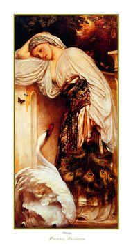 Frederic Leighton Odalisque Fine Art Painting Print