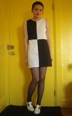 Make a dress from two t-shirts! diy from rookie mag.