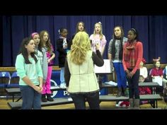 "Middle School Girls Ensamble performs ""Carol of the Bells"" - Episcopal Day School Augusta GA"