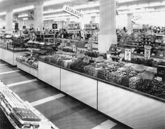 The F.W. Woolworth Co. picked up the idea of customer-mixed bulk candy for its chain of five-and-dime stores. At the candy department of this Woolworth in 1963, customers could choose candy varieties on their own and mix them together at prices ranging from $0.49 to $0.69 per pound. chicagos sweet candy history book