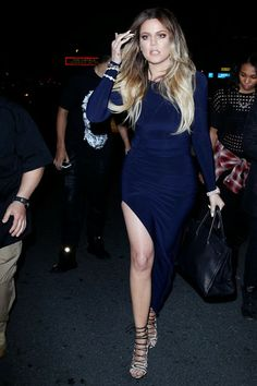 Kim Kardashian Khloe Kardashian April 2014 Style