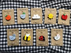 Cute Polymer Clay, Cute Clay, Fimo Clay, Polymer Clay Crafts, Handmade Polymer Clay, Polymer Clay Jewelry, Chat Rose, Clay Keychain, Halloween Clay