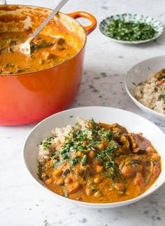 Sweet Potato and Chickpea Stew | Deliciously Ella | Bloglovin'