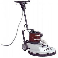 This burnisher is excellent for all finished hard flooring burnishing applications. Available with PAMS - a dust control option for critically clean environments.$2,189.25/Each #floorburnisher #electricburnisher