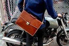 Floto Milano Brief Milano Leather Briefcase 66