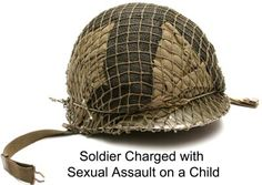 Fort Carson Soldier Sentenced to 10 Years for Sexual Assault on a Child - learn more about this offense! #CriminalDefense #Soldier