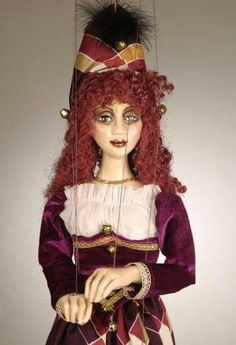 Red Head Girl - Czech Marionettes