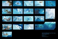 Storyboarding for Ice Age Game Background Art, Color Script, Story Structure, Comic Panels, Ice Age, Storyboard, That Way, Concept Art, Tumblr