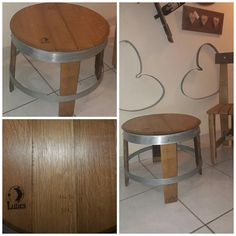 Recycled Art: La petite table basse est de retour à l atelier ! #recycledart #artdelabarrique #winelover #winebarrel #oak #winestave #douelle #coffeetable #meubles #madeinOccitanie http://ift.tt/2wLdxA1