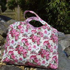 Project bag This bag is the perfect size to hold knitting or crochet projects such as socks, childs jumper, hat or mittens, I use mine for two at a time socks , with plenty of space inside to hold two balls of yarn and notions, I fold mine back at the top it allows me to keep yarn in the bag as i knit It could also be used for a small crochet or embroidery project perhaps as a travel toiletry bag. Its size and shape make it quite versatile, an excellent gift for the crafter in your life…
