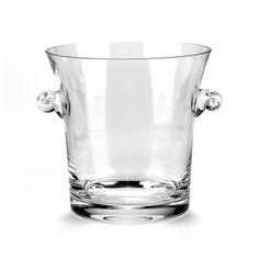 Badash Versil European Mouth Blown Champagne/ Wine Cooler (Ice Bucket/Cooler), Clear (Glass)