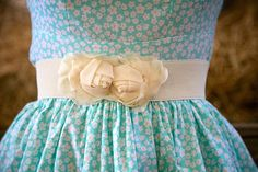 Cream Flower Belt - Silly Old Sea DogSilly Old Sea Dog