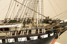 USS Constitution Model from Revell, 30 foto Model Ship Kits, Model Ships, Model Ship Building, Boat Building, Uss Constitution Model, Plastic Models, Sailing Ships, Airplanes, Fair Grounds