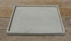 Multi Purpose Concrete Tray by roughfusion on Etsy https://www.etsy.com/listing/154175783/multi-purpose-concrete-tray